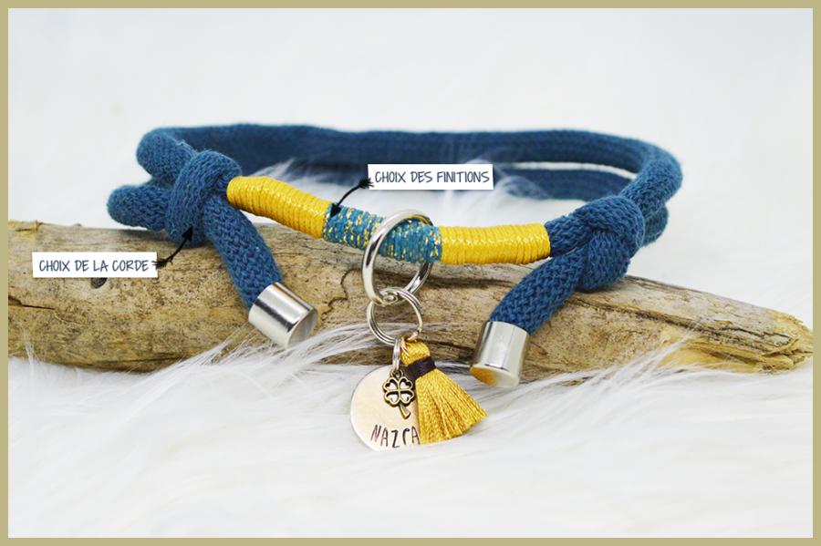 Collier porte-médaille personnalisable Maya