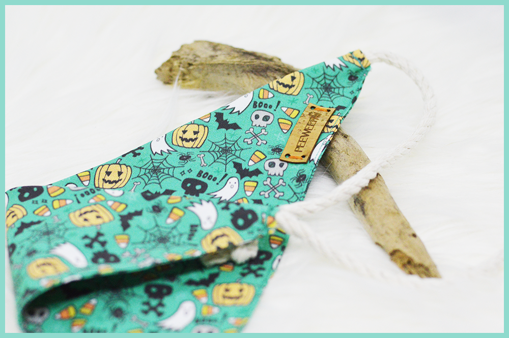 Bandana Halloween pour chien Hell Oh Win
