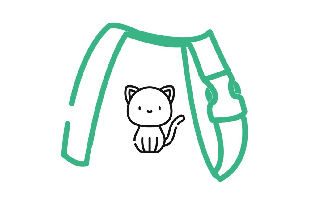 Harnais pour chat PeeweePaw