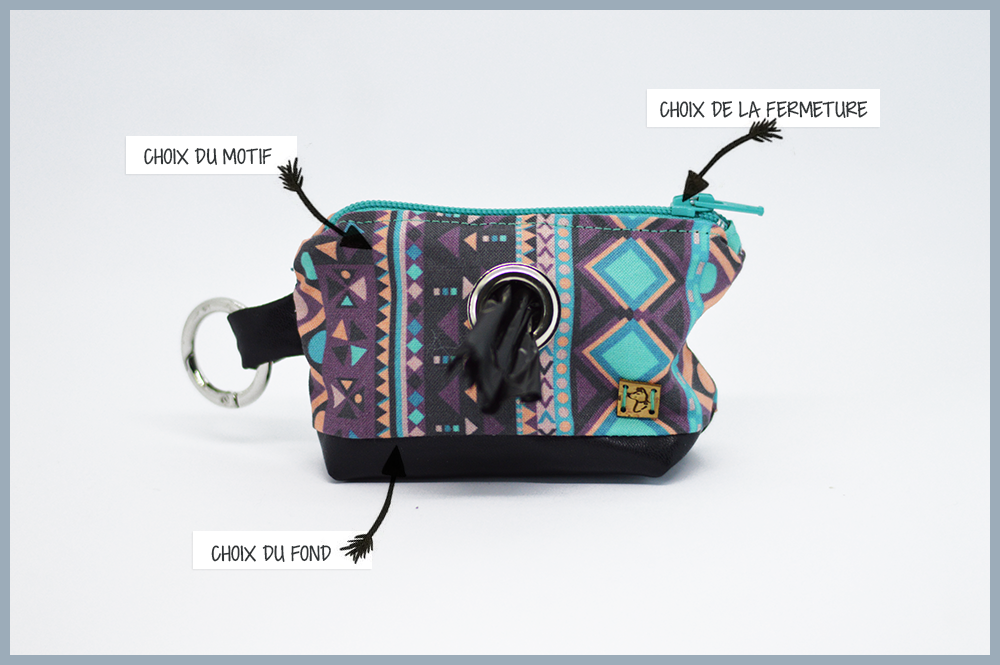 Pochette à sacs personnalisable